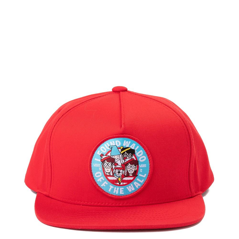 Vans x Where's Waldo Snapback Hat - Little Kid - Racing Red