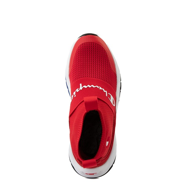 alternate view Womens Champion Rally Hi Athletic Shoe - RedALT2