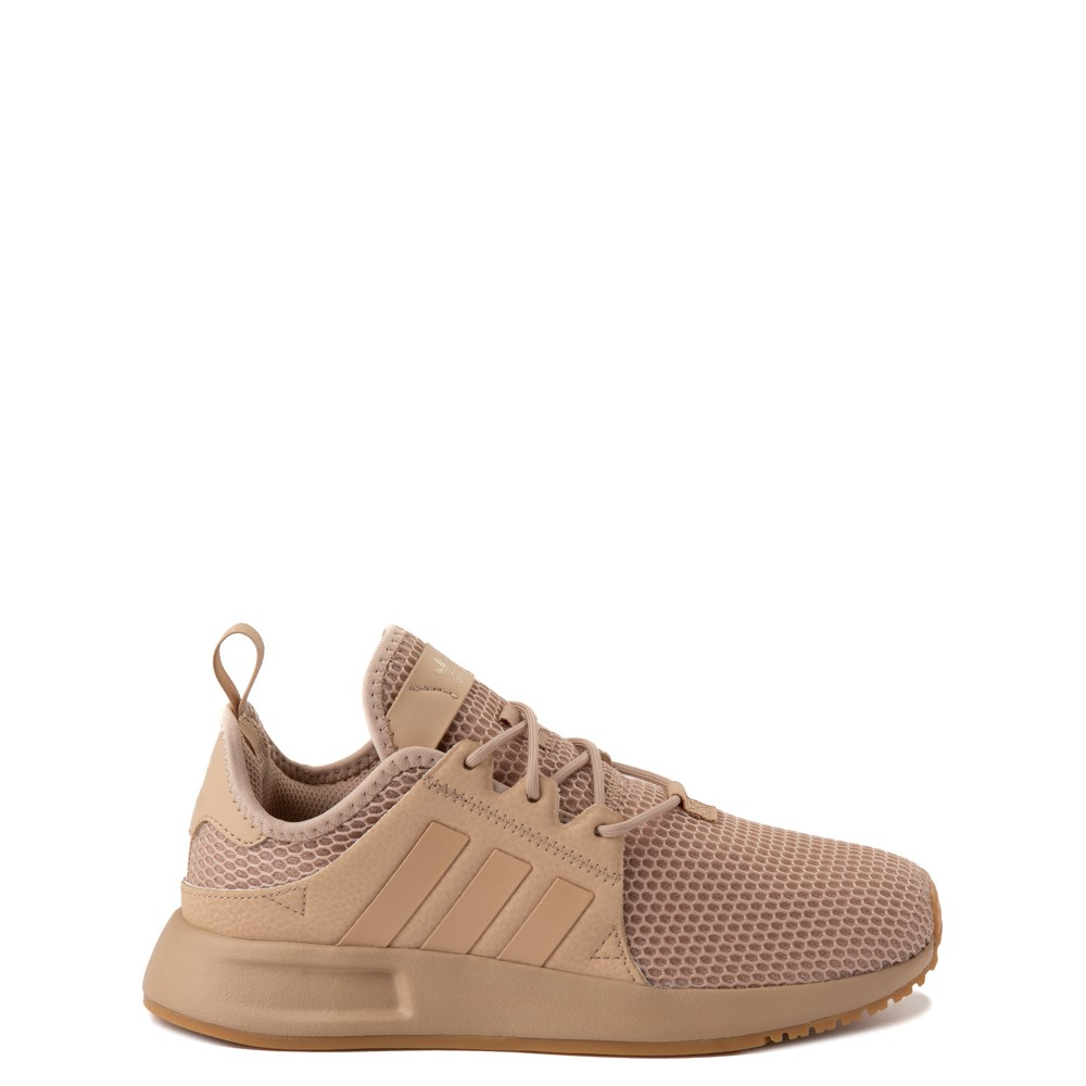 adidas X_PLR Athletic Shoe - Big Kid - Tan / Gum