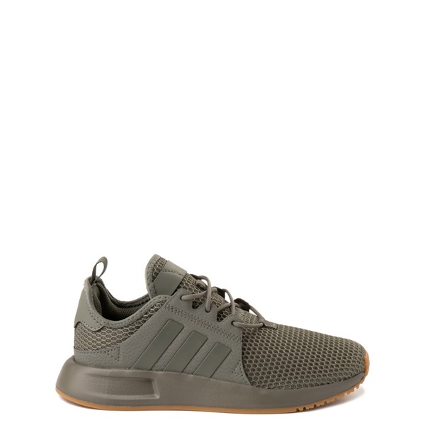 adidas X_PLR Athletic Shoe - Big Kid - Green / Gum