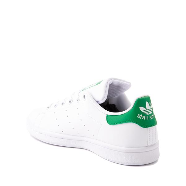 alternate view adidas Stan Smith Athletic Shoe - Big Kid - White / GreenALT1