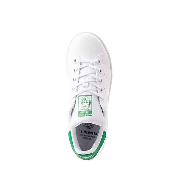 alternate view adidas Stan Smith Athletic Shoe - Big Kid - White / GreenALT2