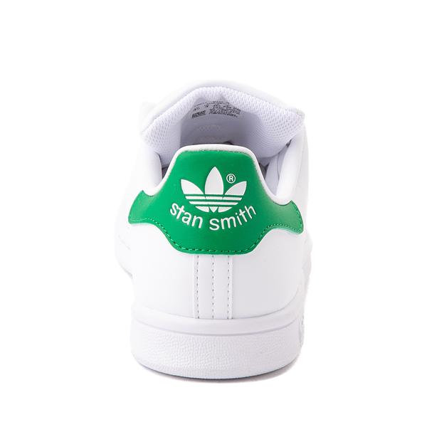 alternate view adidas Stan Smith Athletic Shoe - Big Kid - White / GreenALT4