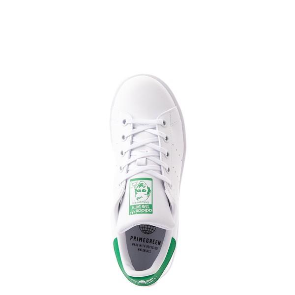 alternate view adidas Stan Smith Athletic Shoe - Big Kid - White / GreenALT4B