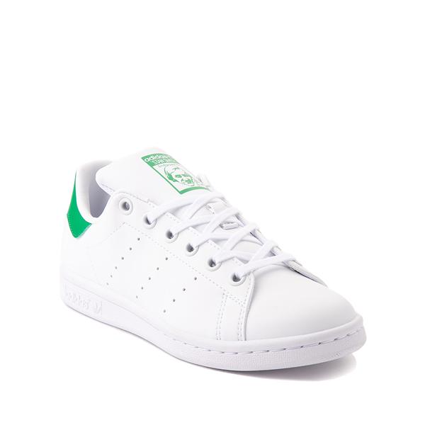 alternate view adidas Stan Smith Athletic Shoe - Big Kid - White / GreenALT5