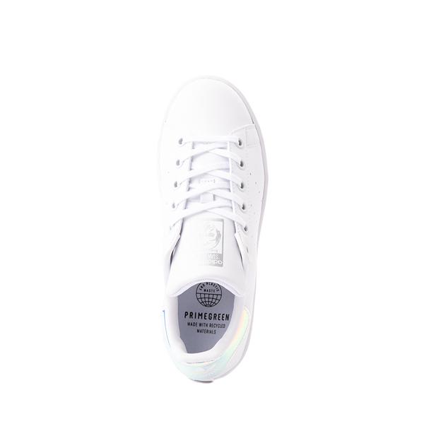 alternate view adidas Stan Smith Athletic Shoe - Big Kid - White / IridescentALT2