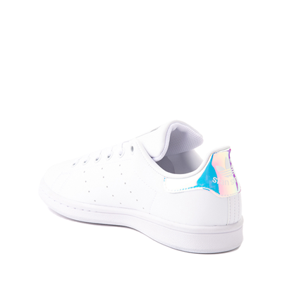 Alternate view of adidas Stan Smith Athletic Shoe - Big Kid - White / Iridescent