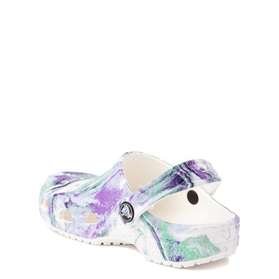 Alternate view of Crocs Classic Out of This World II Clog - Little Kid / Big Kid - White / Multicolor