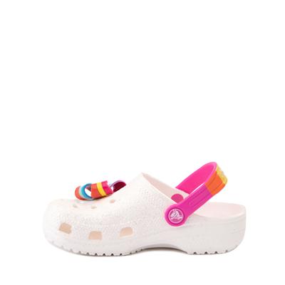 Alternate view of Crocs Fun Lab JoJo Siwa™ Clog - Little Kid - White