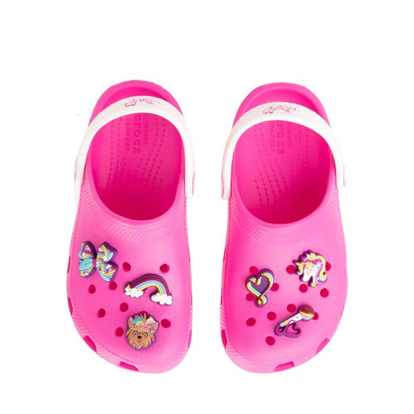 alternate view Crocs Fun Lab JoJo Siwa™ Clog - Little Kid - Electric PinkALT2