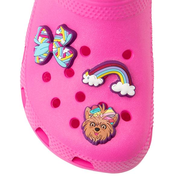 alternate view Crocs Fun Lab JoJo Siwa™ Clog - Little Kid - Electric PinkALT2B
