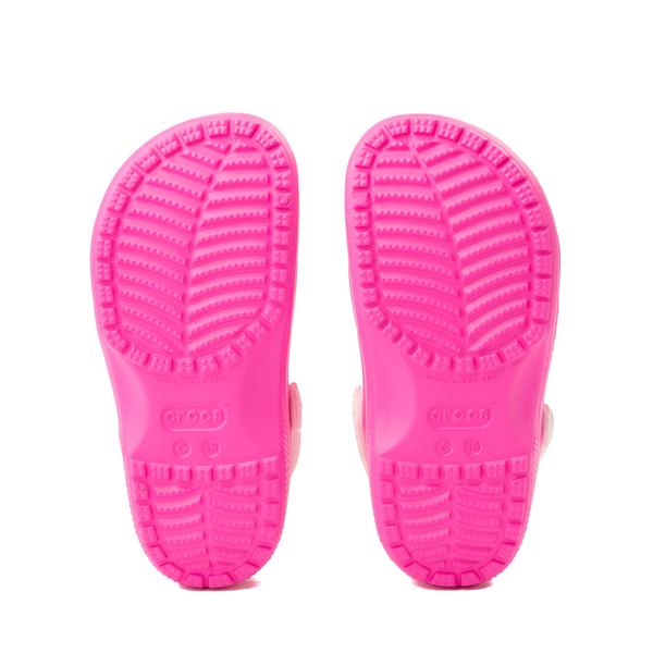 alternate view Crocs Fun Lab JoJo Siwa™ Clog - Little Kid - Electric PinkALT3
