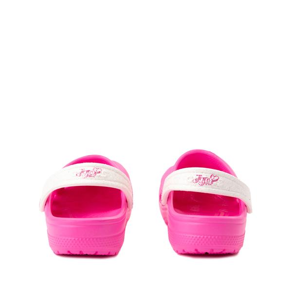 alternate view Crocs Fun Lab JoJo Siwa™ Clog - Little Kid - Electric PinkALT4