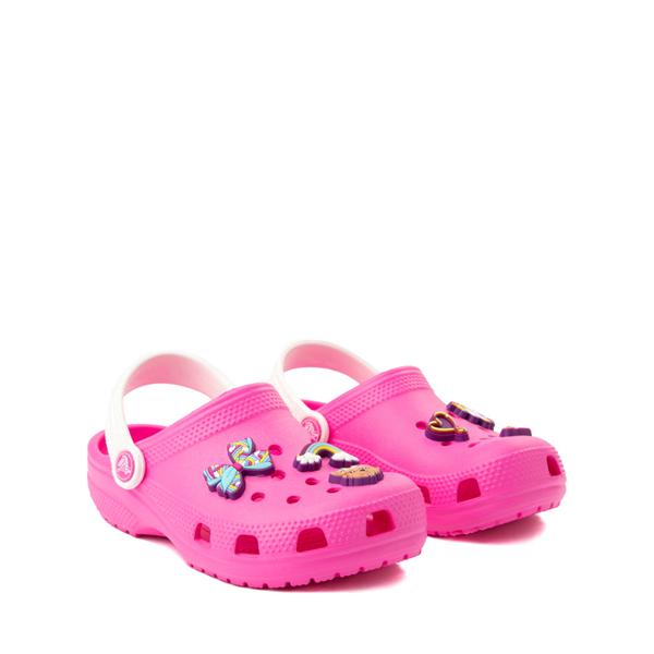 alternate view Crocs Fun Lab JoJo Siwa™ Clog - Little Kid - Electric PinkALT5