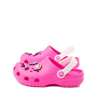 Alternate view of Crocs Fun Lab JoJo Siwa™ Clog - Little Kid - Electric Pink