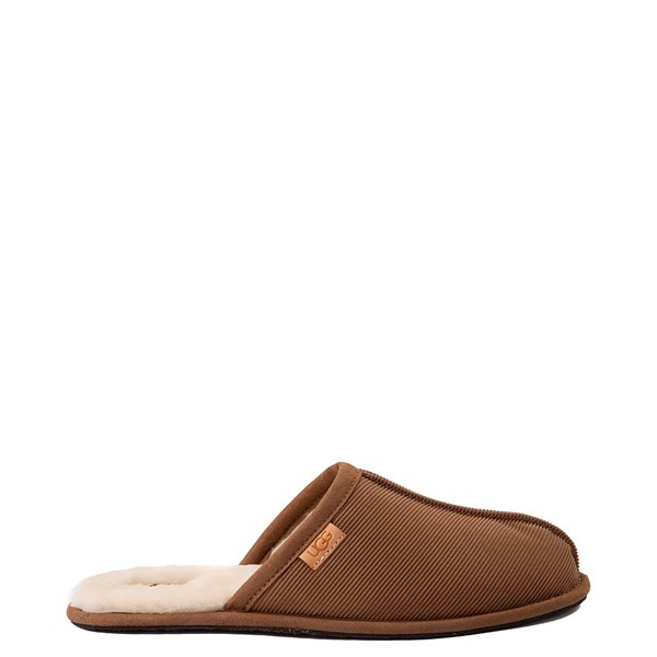 Mens UGG® Scuff Corduroy Slipper - Chestnut