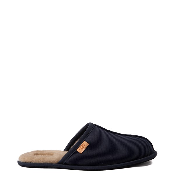 Mens UGG® Scuff Corduroy Slipper - Navy