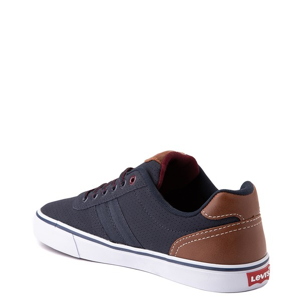 alternate view Mens Levi's 501® Miles Casual Shoe - NavyALT1