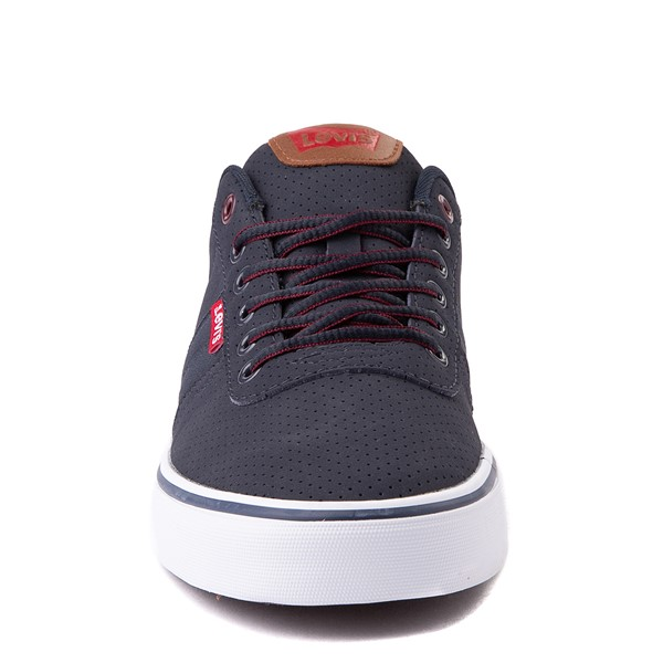 alternate view Mens Levi's 501® Miles Casual Shoe - NavyALT4