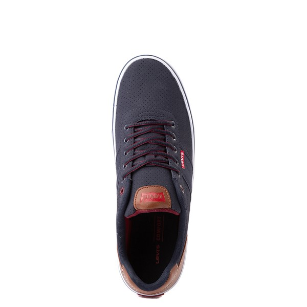 alternate view Mens Levi's 501® Miles Casual Shoe - NavyALT4B