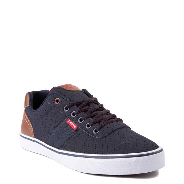 alternate view Mens Levi's 501® Miles Casual Shoe - NavyALT5