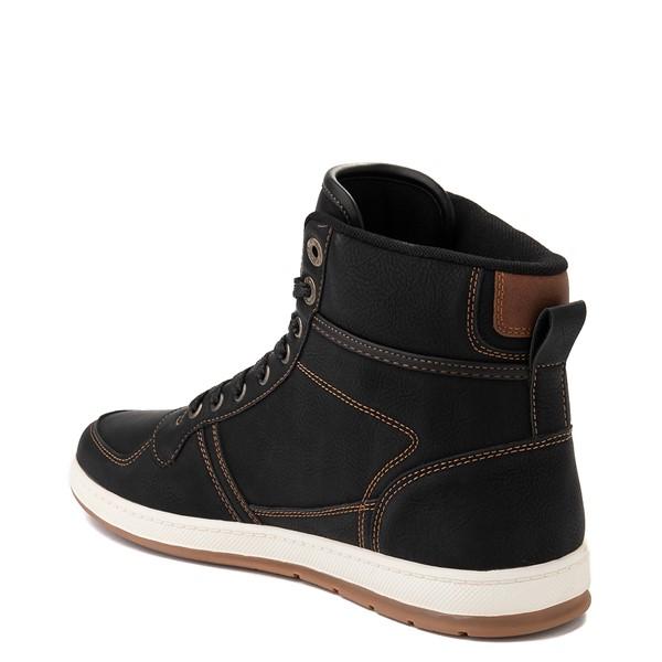 alternate view Mens Levi's Stanton Hi Casual Shoe - BlackALT2