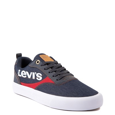 Alternate view of Mens Levi's Lance Casual Shoe - Navy