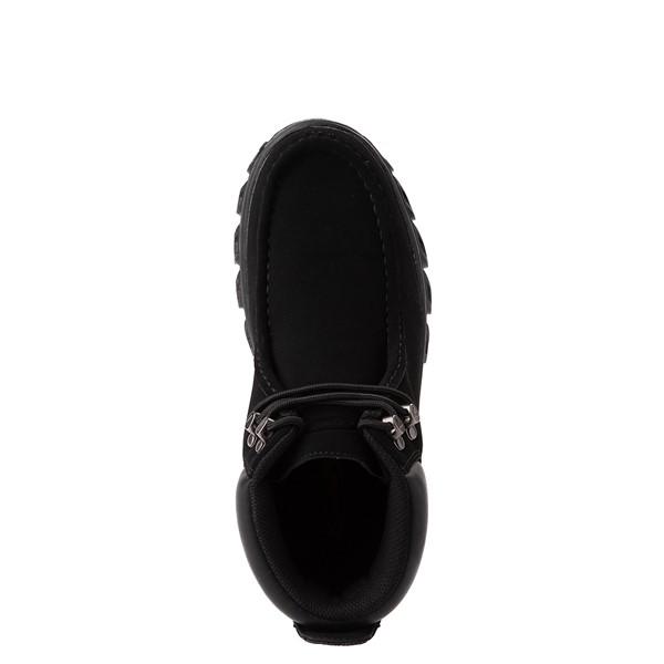 alternate view Mens Lugz Rubicon Chukka Boot - Black MonochromeALT4B
