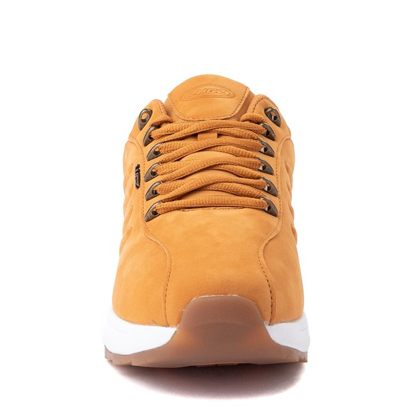 alternate view Mens Lugz Phoenix Oxford Sneaker - Golden WheatALT4