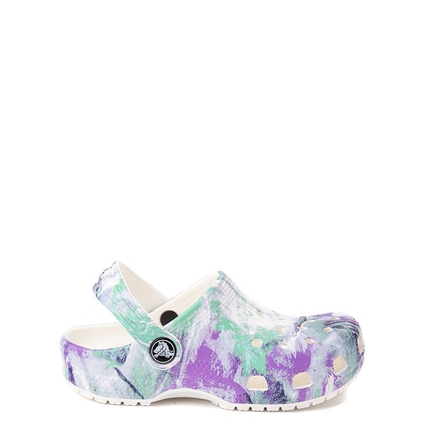 Main view of Crocs Classic Out of This World II Clog - Baby / Toddler / Little Kid - White / Multicolor