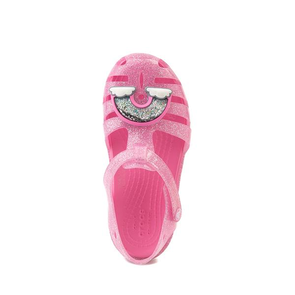 alternate view Crocs Isabella Charm Sandal - Baby / Toddler / Little Kid - Pink LemonadeALT2