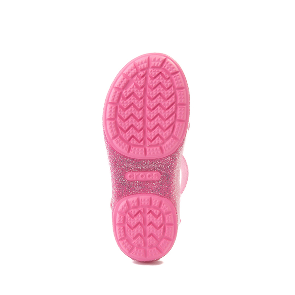 alternate view Crocs Isabella Charm Sandal - Baby / Toddler / Little Kid - Pink LemonadeALT3