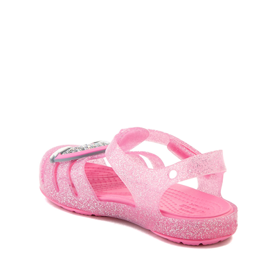 Alternate view of Crocs Isabella Charm Sandal - Baby / Toddler / Little Kid - Pink Lemonade