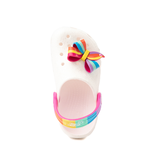 alternate view Crocs Fun Lab JoJo Siwa™ Clog - Baby / Toddler / Little Kid - WhiteALT2