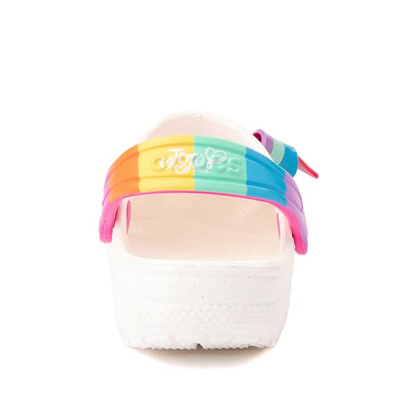 alternate view Crocs Fun Lab JoJo Siwa™ Clog - Baby / Toddler / Little Kid - WhiteALT4