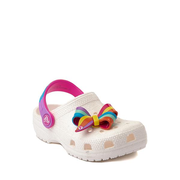 alternate view Crocs Fun Lab JoJo Siwa™ Clog - Baby / Toddler / Little Kid - WhiteALT5
