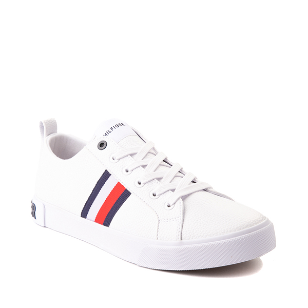 alternate view Mens Tommy Hilfiger Rayas 2 Casual Shoe - WhiteALT5