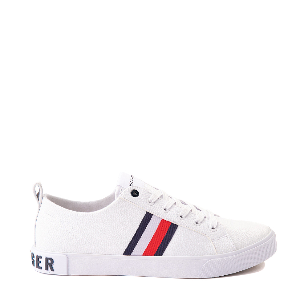 Mens Tommy Hilfiger Rayas 2 Casual Shoe - White