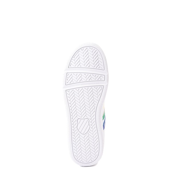 alternate view K-Swiss Classic VN Athletic Shoe - Big Kid - White / RainbowALT3