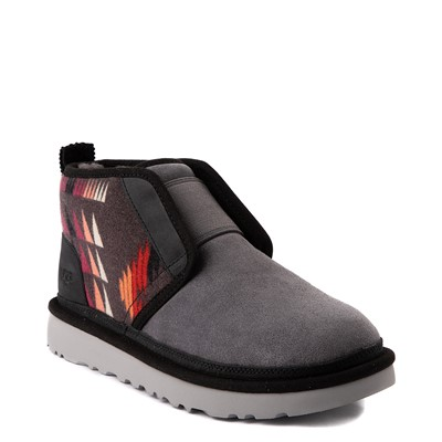 Alternate view of Mens UGG® Neumel Flex Boot - Gray / Multicolor