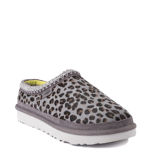alternate view Mens UGG® Tasman Casual Shoe - Gray LeopardALT1