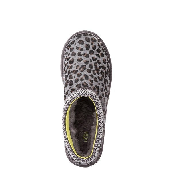 alternate view Mens UGG® Tasman Casual Shoe - Gray LeopardALT4B