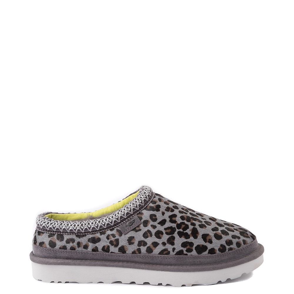 Mens UGG® Tasman Casual Shoe - Gray Leopard