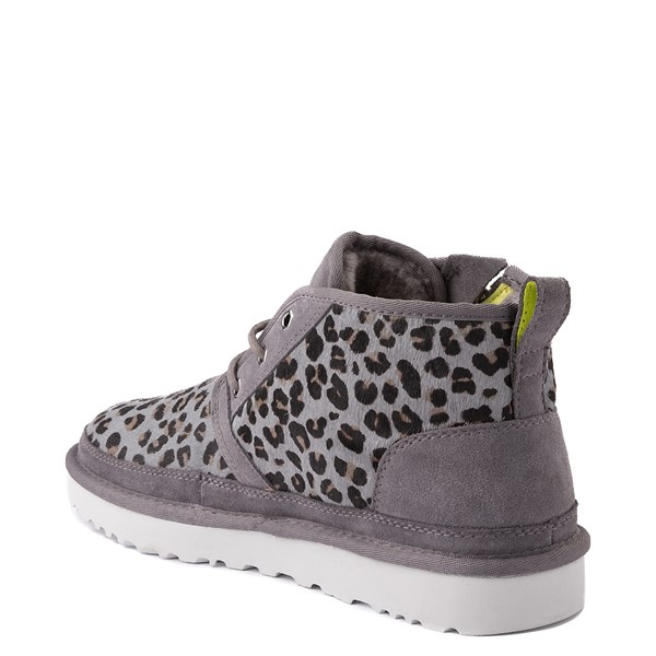 alternate view Mens UGG® Neumel Zip Casual Shoe - Gray LeopardALT2