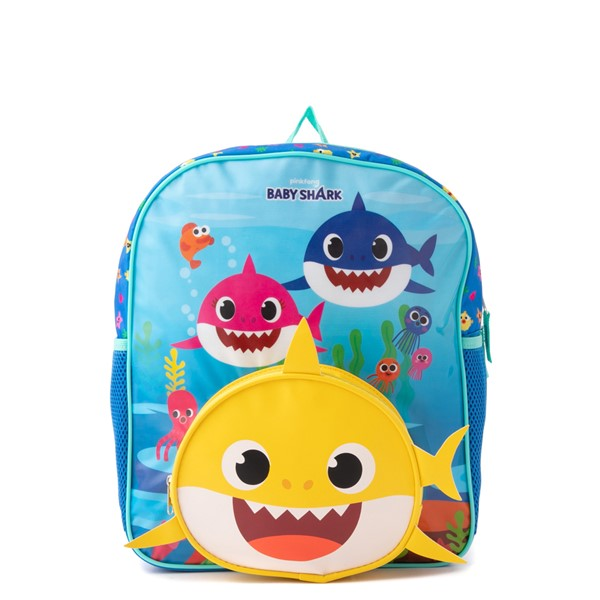Main view of Baby Shark Mini Backpack - Blue