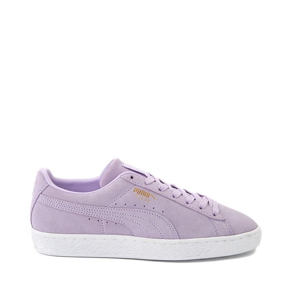 Main view of Womens Puma Suede Athletic Shoe - Lavender