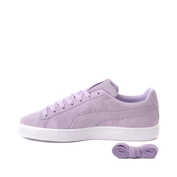 alternate view Womens Puma Suede Athletic Shoe - LavenderALT1