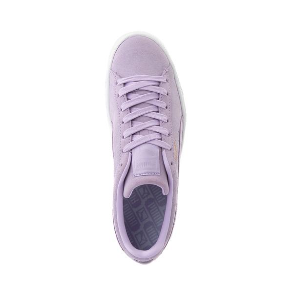 alternate view Womens Puma Suede Athletic Shoe - LavenderALT2