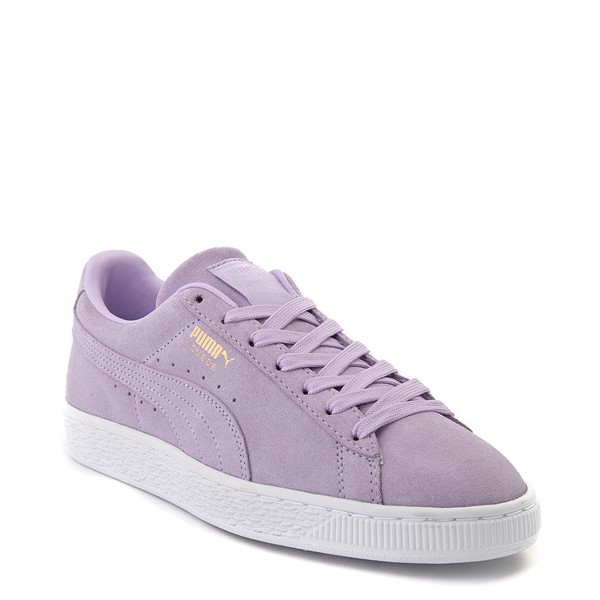 alternate view Womens Puma Suede Athletic Shoe - LavenderALT5x