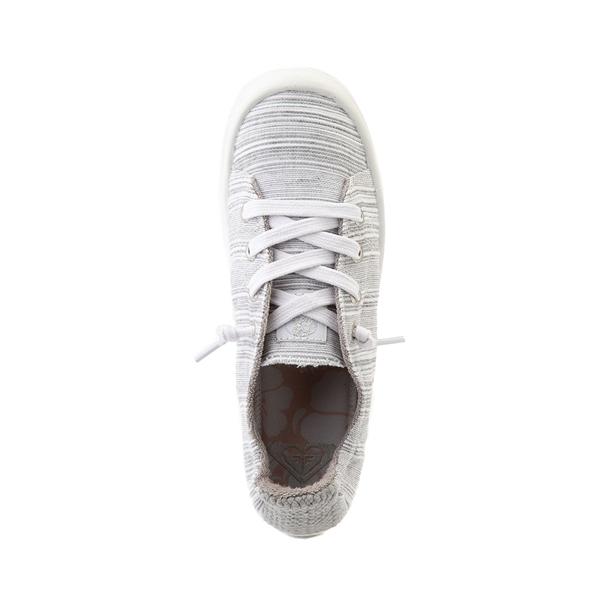alternate view Womens Roxy Bayshore Casual Shoe - Baja Blue / WhiteALT2